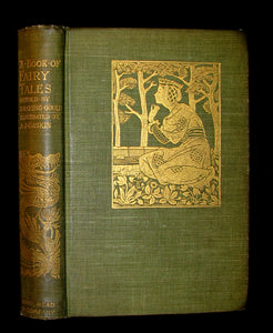 1894 Scarce Book - A Book of Fairy Tales Retold By S. Baring Gould, Illustrated by A. J. Gaskin.