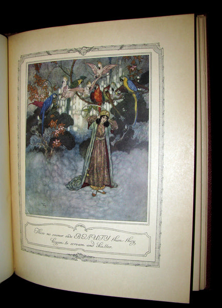 1910 Rare Book - The Sleeping Beauty & Other Fairy Tales Illustrated by Edmund Dulac