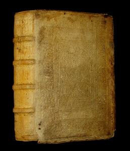 1574 Rare Latin vellum Book - Cicero Philosophy - The Dream of Scipio - Philosophicorum