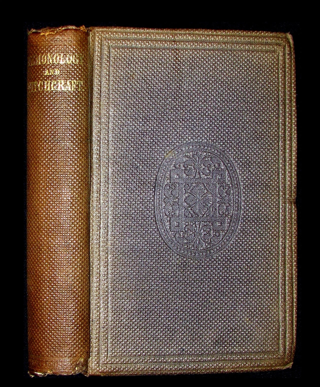 1831 Rare 2ndED Walter Scott - Letters on Demonology & Witchcraft - WITCHES & FAIRIES