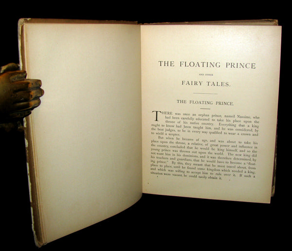1884 Scarce Book - The Floating Prince and Other Fairy Tales by Frank R. Stockton