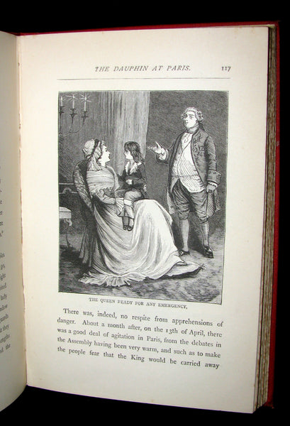 1885 Rare Victorian Book - The Peasant and the Prince by Harriet Martineau. Illustrated.