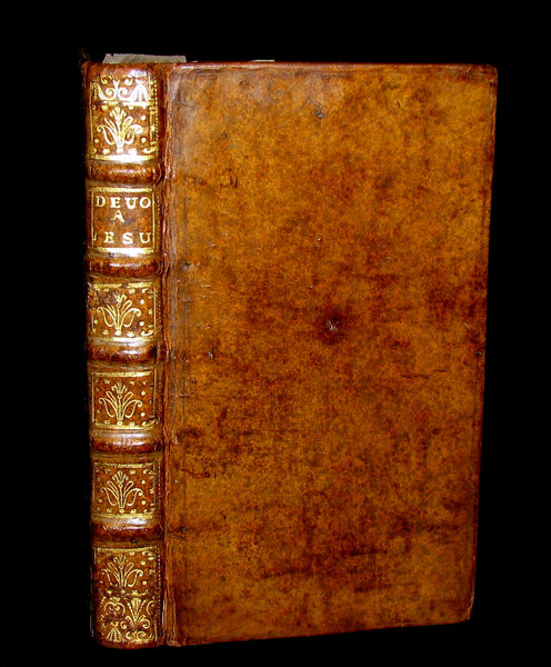 1723 Scarce French Book -  Instructions for the devotion to the Sacred Heart of Jesus