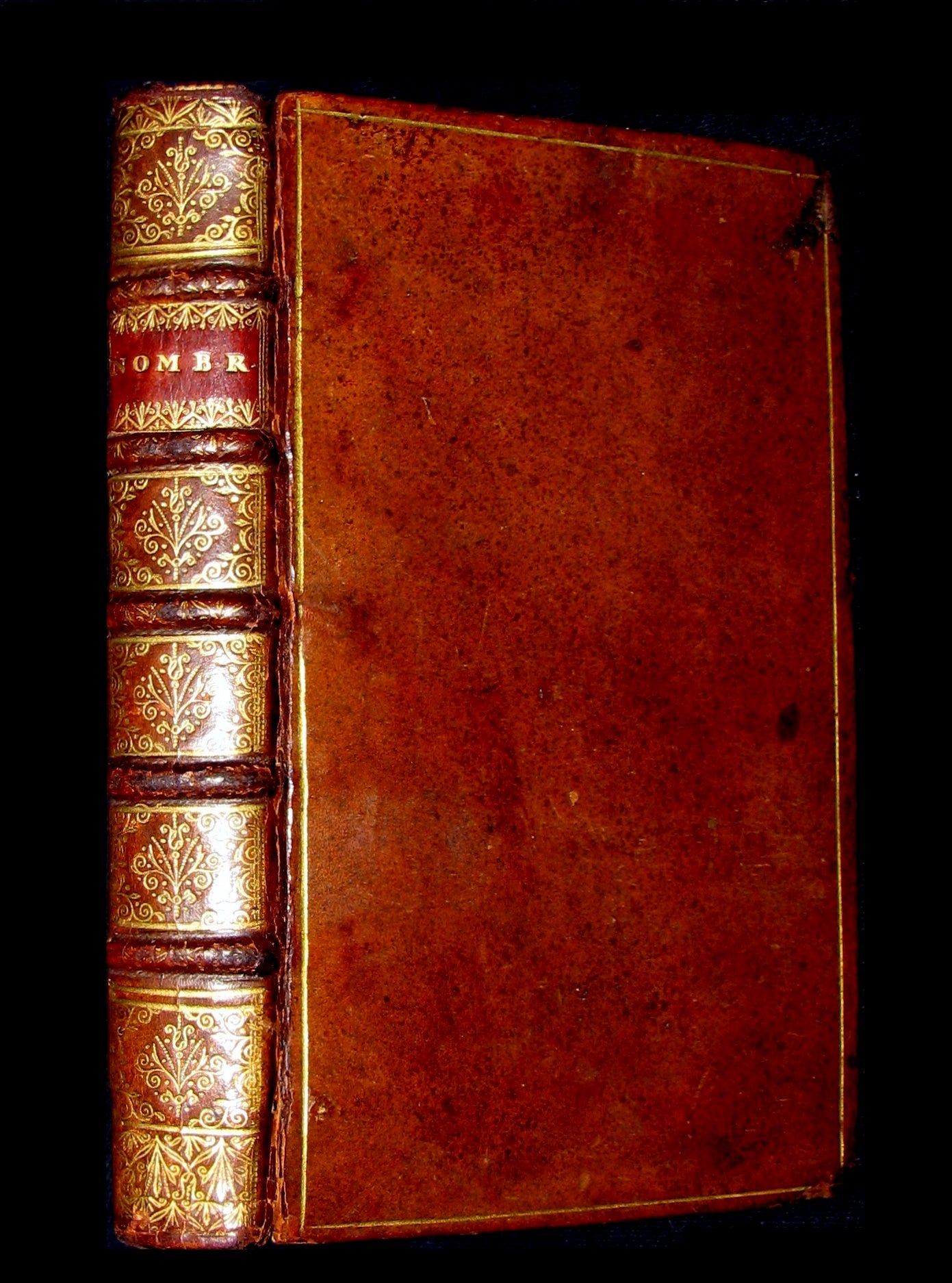 1697 Rare Latin French Bible - The Book of Numbers - Les NOMBRES by Le Maistre de Sacy