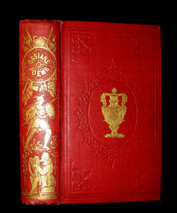 1847 Rare Victorian Book - The POEMS of OSSIAN by James Macpherson & dissertation of the Era.