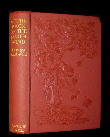 1930 Rare Book - AT THE BACK OF THE NORTH WIND by George MacDonald.