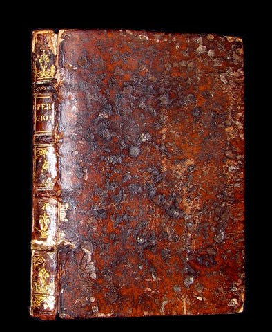 1598 Scarce Latin Book - Peregrini's Affections of the Soul - Love, Desire, Joy, Sadness, Anger, ...