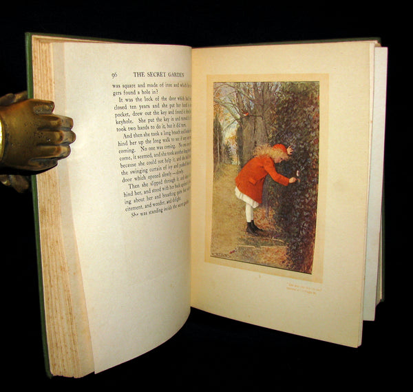 1911 Rare 1st Edition Book - The Secret Garden by Frances Hodgson Burnett
