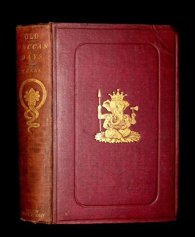 1868 First Edition Book - Old Deccan Days - Hindoo Fairy Tales / Legends - Southern India