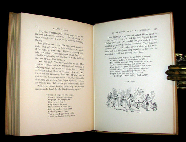 1902 Rare 1stED Book - PRINCE HAROLD A Fairy Story for the Young, and for All Who Have Young Hearts