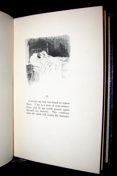 1887 Scarce 1stED Book - Nerval's prose masterpiece - Sylvie: Recollections of Valois Illustrated.