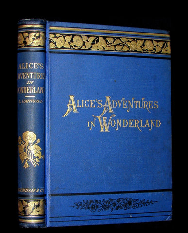 1888 Scarce early Blue edition - ALICE'S ADVENTURES IN WONDERLAND by Lewis Carroll.