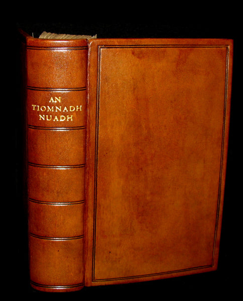 1796 Scarce Scottish GAELIC New Testament - TIOMNADH NUADH. Bible.