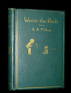 1926 Rare First Edition Book - WINNIE-THE-POOH by Milne & Illustrated by Shepard.