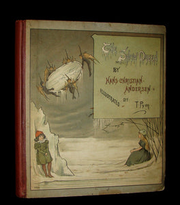 1885 Scarce Victorian Book -  The Snow Queen by Hans Christian Andersen illustrated by T. Pym