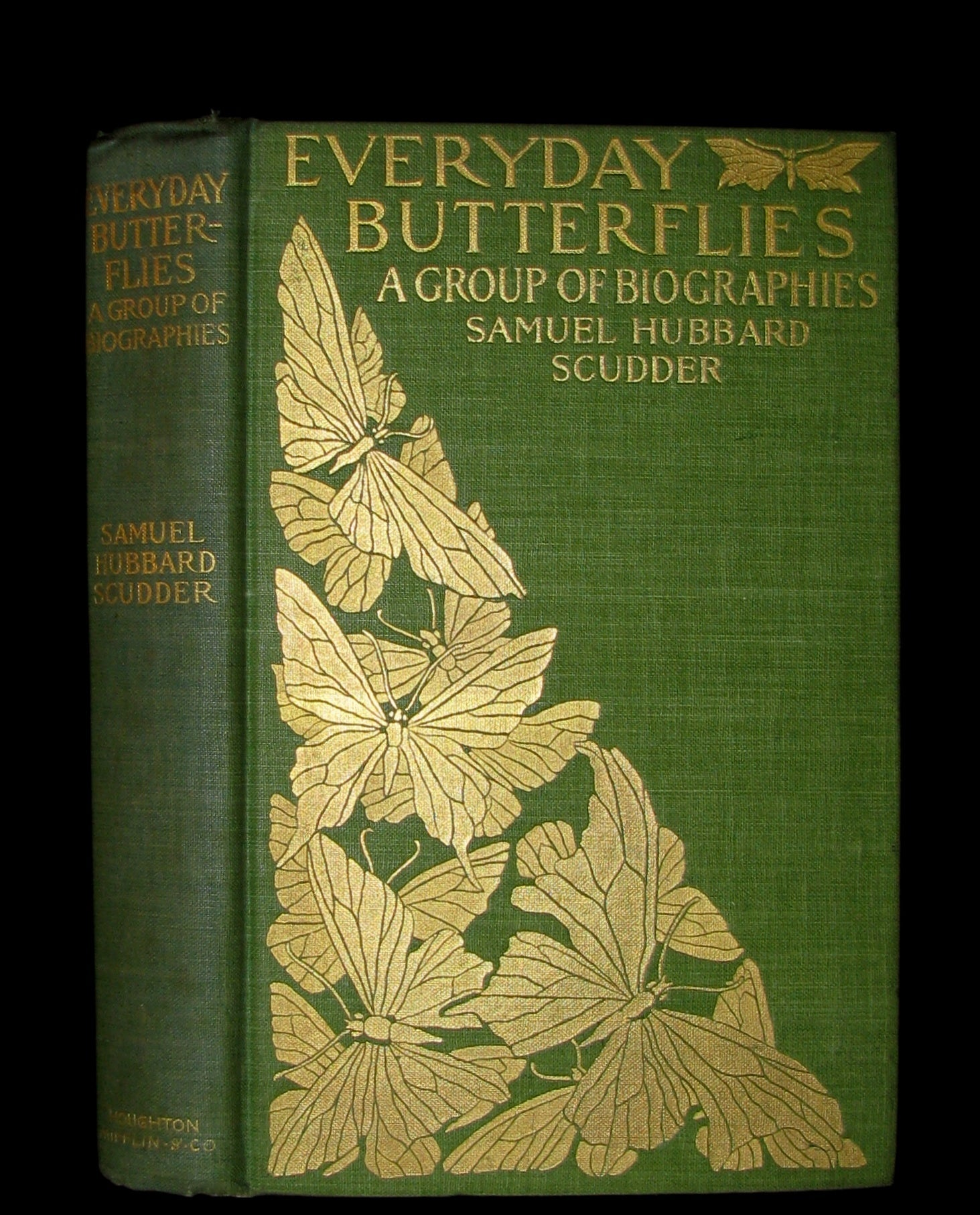 1899 Rare First Edition Book - Every-Day Butterflies A group of Biographies by Samuel Hubbard Scudder