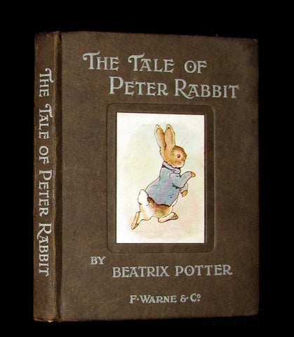 1903 Rare Book - Beatrix Potter  - THE TALE OF PETER RABBIT - First Edition, 6th printing.