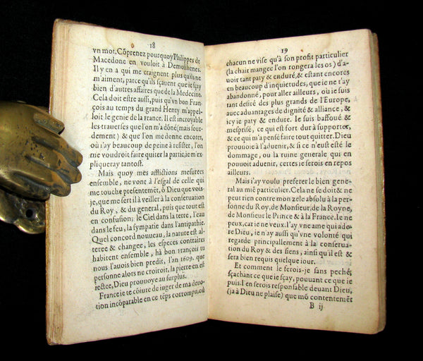 1612 Scarce Alchemy French vellum Book - Le Chimiste ou Conservateur Francois - Philosopher's stone