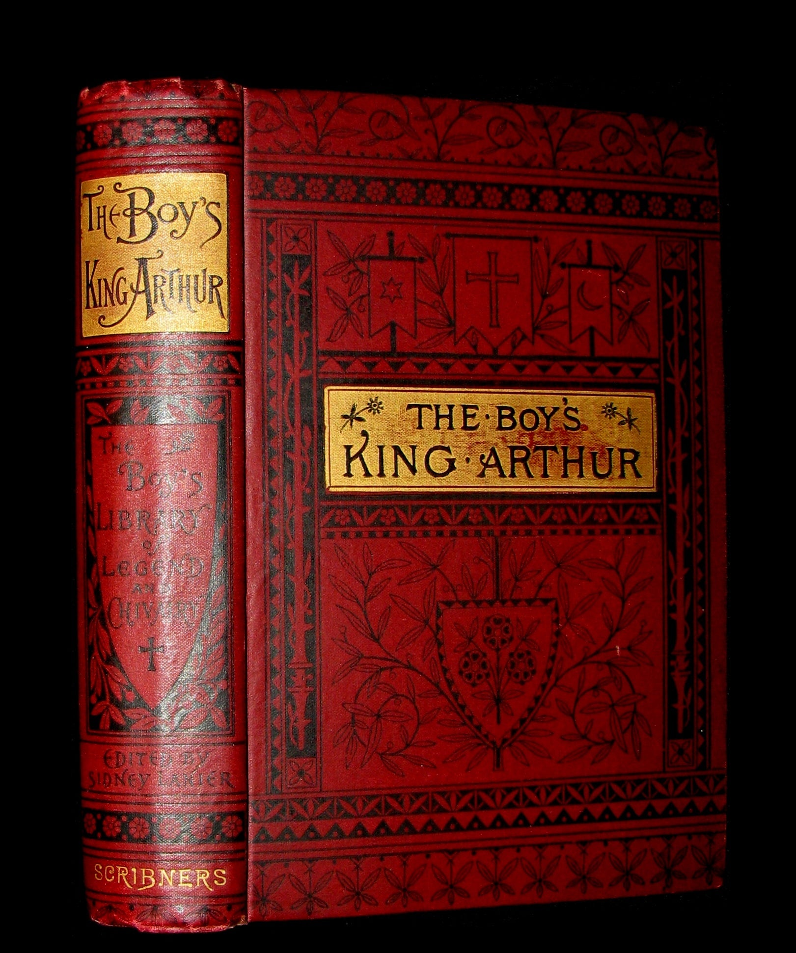 1895 Rare Book - The Boy's KING ARTHUR and of His Noble Knights of the Round Table illustrated.