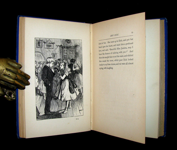 1880 Scarce Victorian Book - The Boys of Axleford by Charles Camden. Illustrated.