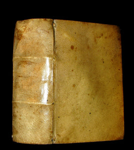 1622 Scarce Latin vellum Book - ORATIONS of Cicero - Pro Quinctio, In Verrem, Pro Roscio Amerino.