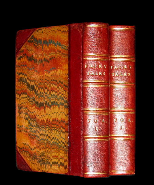 1817 Scarce Book Set - FAIRY TALES and Novels by the Countess d'ANOIS.