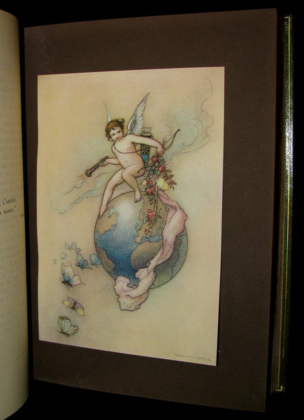 1909 Bayntun-Riviere Binding - Water-Babies Fairy Tale for a Land-Baby Illustrated by Warwick Goble. 1stED.