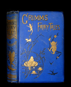 1890 Rare Victorian Book -  Brothers Grimm's FAIRY TALES illustrated.