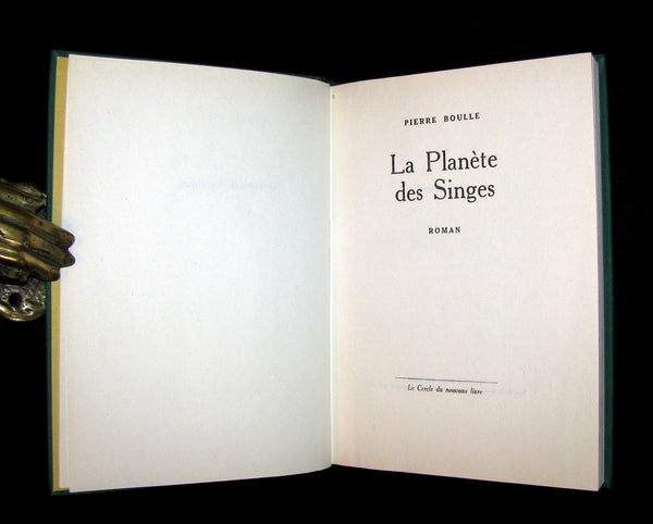 1963 Rare First Limited Edition #691 - La Planete des Singes (The Planet of the Apes) by Pierre Boulle