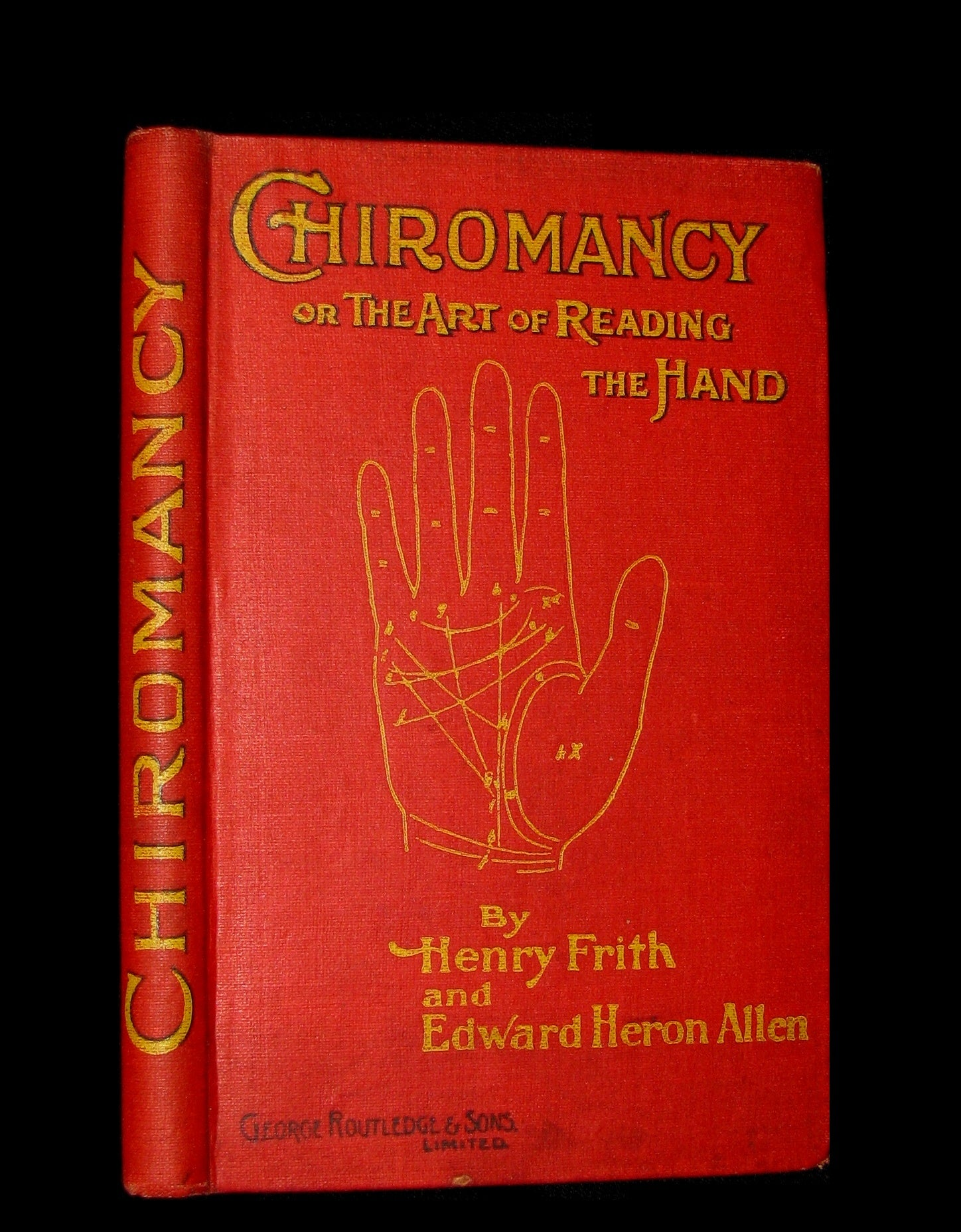 1900 Scarce CHIROMANCY Book -  The Illustrated Science of Palmistry by Henry Frith.