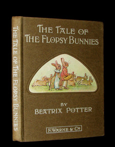 1909 Rare Book - Beatrix Potter - The Tale of the Flopsy Bunnies - First Edition, 1st or 2nd printing.