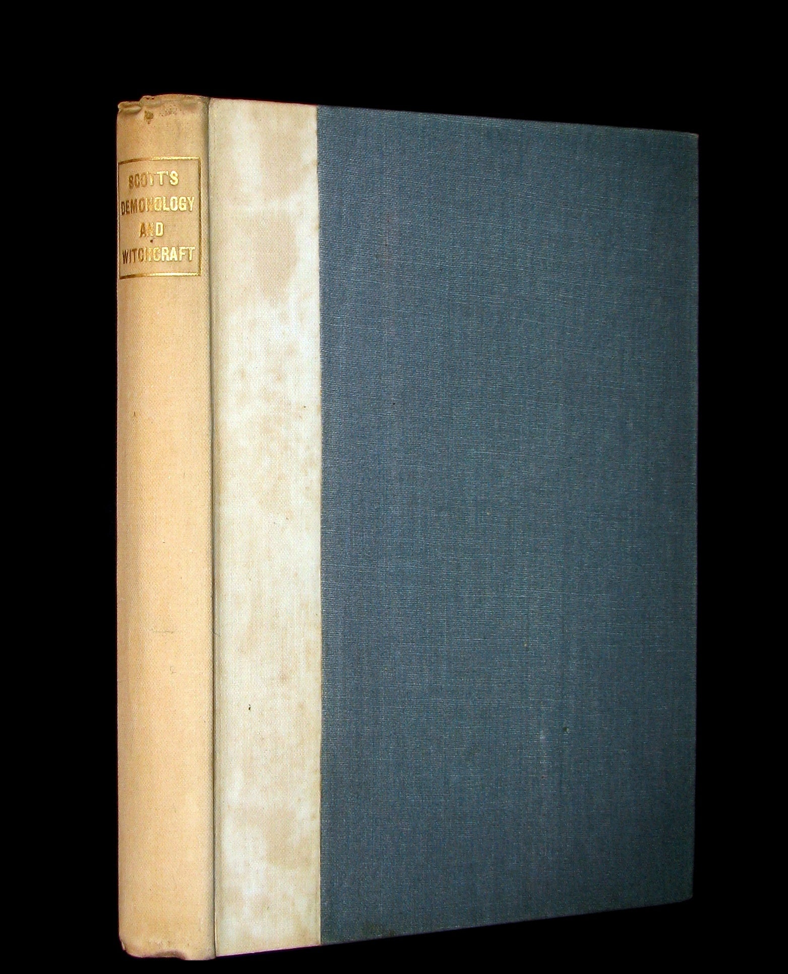 1887 Rare Book - Demonology and Witchcraft - WITCHES & FAIRIES by Sir Walter Scott.