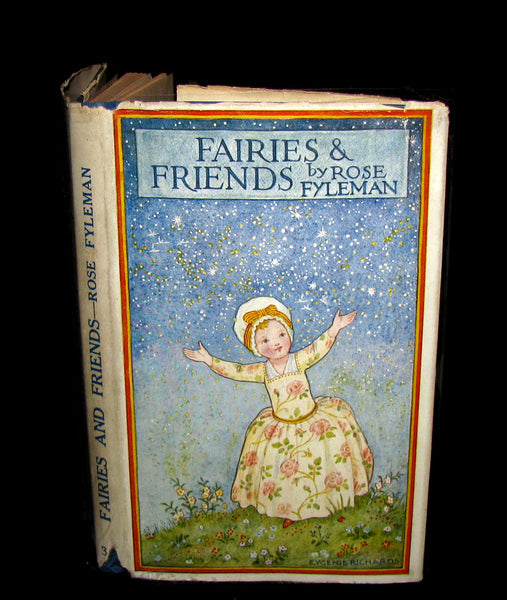 1925 Signed Book - Rose Fyleman - Fairies and Friends + Signed Letter. First Edition.
