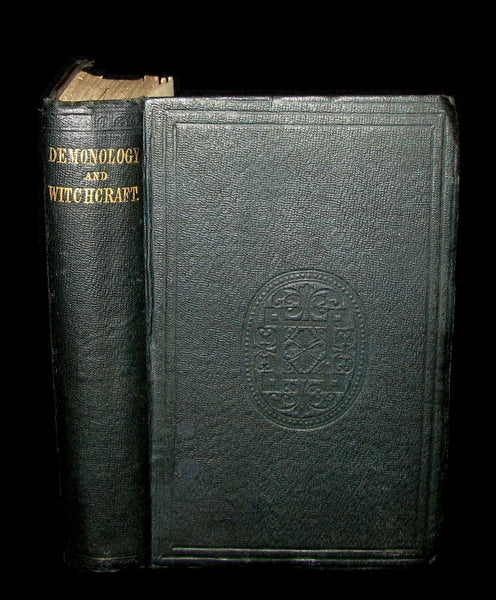 1831 Rare 2nd EDITION - Letters on Demonology & Witchcraft - WITCHES & FAIRIES by Walter Scott.