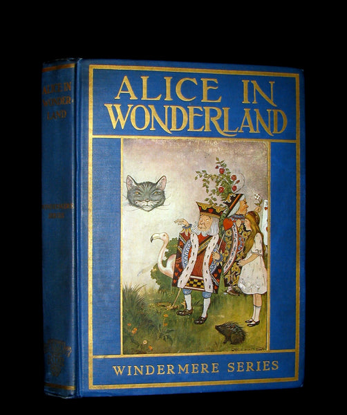 1916 Rare Windermere Edition - Alice's Adventures in Wonderland & Through the Looking-Glass Illustrated.