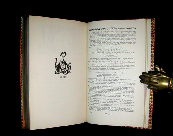 1926 Rare 1stED - Lord Byron's DON JUAN illustrated by John Austen & bound by Sangorski & Sutcliffe.
