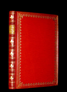 1917 Nice RIVIERE Binding - MEDIEVAL HISTORY of Aucassin and Nicolete. Knighthood and Chivalry.