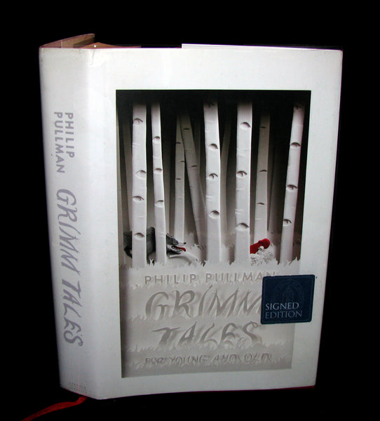 2012 Rare Signed First Edition - PHILIP PULLMAN - Grimm's Fairy Tales.