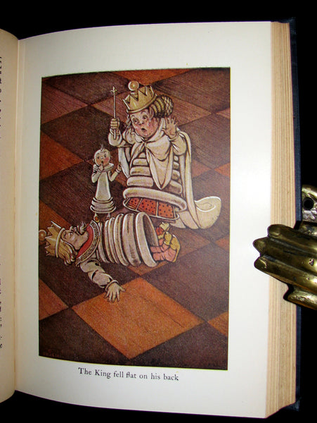 1925 Rare Edition - Alice's Adventures In Wonderland and Through The Looking-Glass illustrated by Eleonore Abbott.