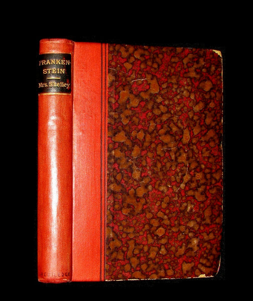 1888 Rare Book - FRANKENSTEIN or The Modern Prometheus by Mrs. Shelley.