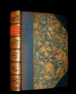1839 Nice RIVIERE Binding - 1st Edition - PAUL and VIRGINA by Bernardin De St Pierre.