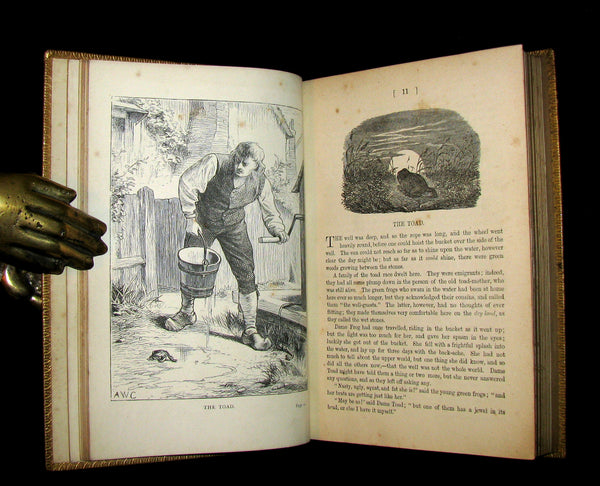 1884 Rare Victorian Edition - Hans Christian Andersen - FAIRY TALES and Sketches.
