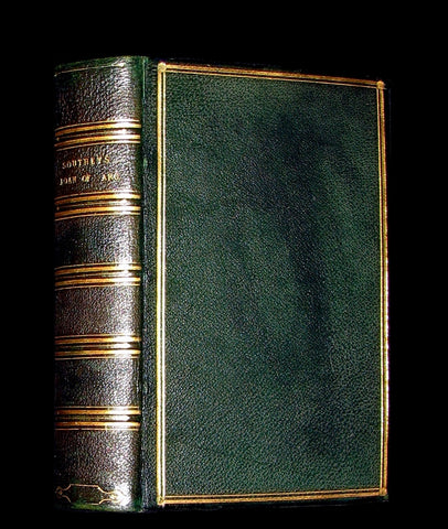 1854 Rare Victorian Book - JOAN OF ARC and Minor Poems, Ballads by Robert Southey. Illustrated.