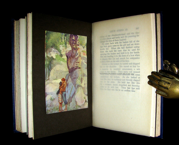1910 Rare 1st Edition - The BLUE LAGOON by H. De Vere Stacpoole illustrated by Willy Pogany.