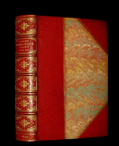 1849 Beautiful Worsfold Binding - FAIRY TALES and Romances by Count Anthony Hamilton.