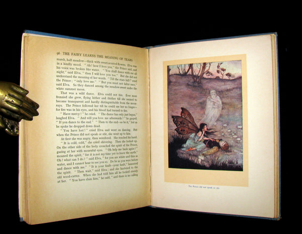 1915 Scarce 1stED Book - Sackville's FAIRY TALES - THE TRAVELLING COMPANIONS Illustrated by Florence Anderson.