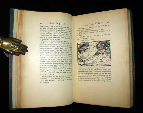 1894 Scarce LIMITED 1st EDITION #27/125 - More CELTIC FAIRY TALES by Joseph Jacobs Illustrated by John D. Batten.