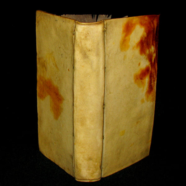 1670 Rare Latin Vellum Book - Histories of ALEXANDER the GREAT by Quintus Curtius Rufus.
