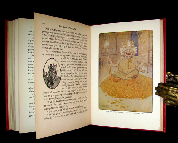 1911 Rare 1st ED - The Chronicles of Fairy Land by Fergus Hume illustrated by Maria L. Kirk.