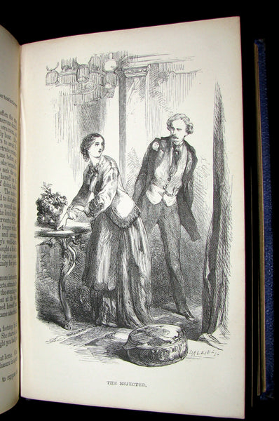 1863 Rare Book - The LAMPLIGHTER by Maria Susanna Cummins illustrated by JOHN GILBERT.